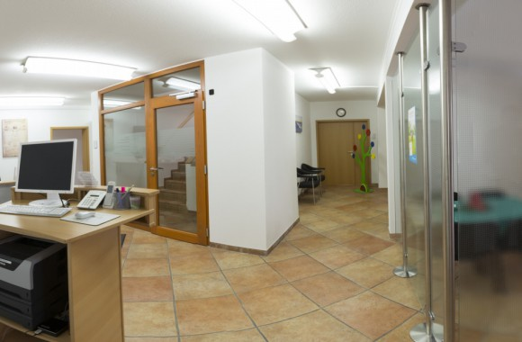 Panoramablick in den Eingangsbereich